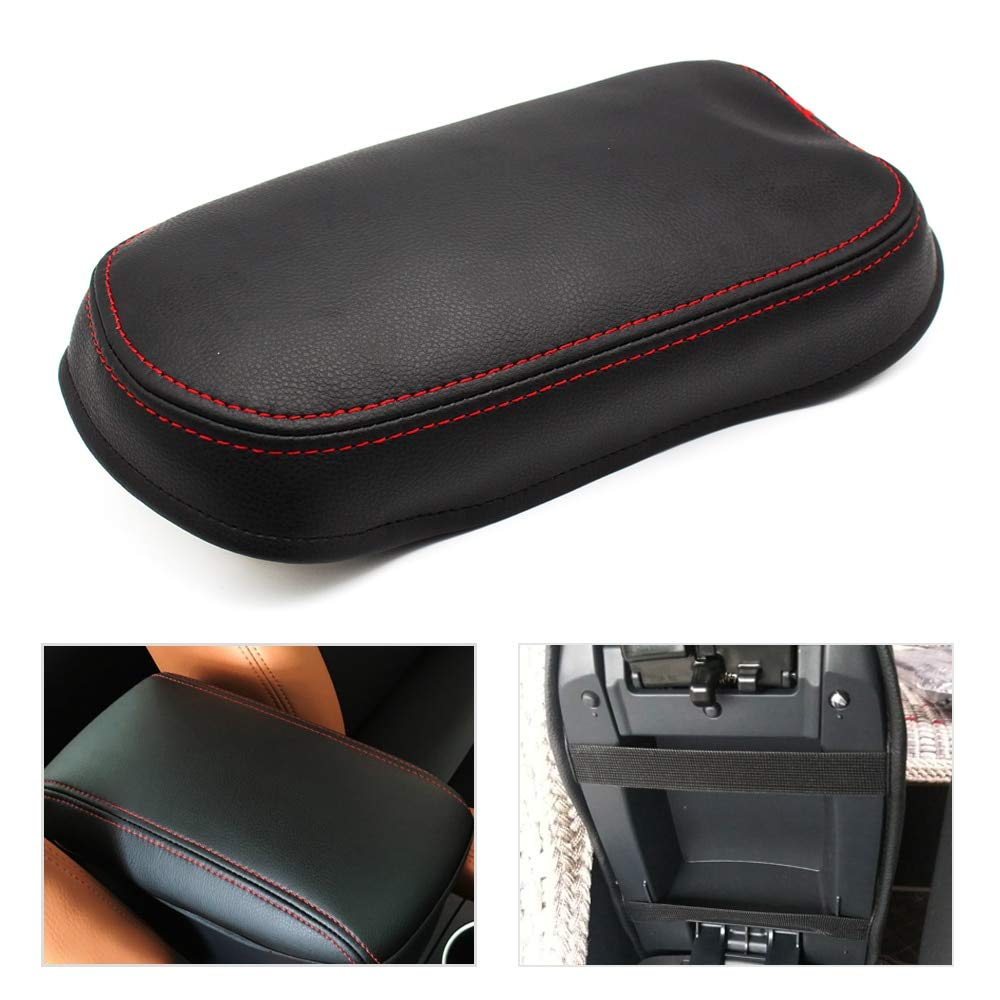 DeemoShop Car Center Console Armrest Box Cover DIY Leather Protection Pad