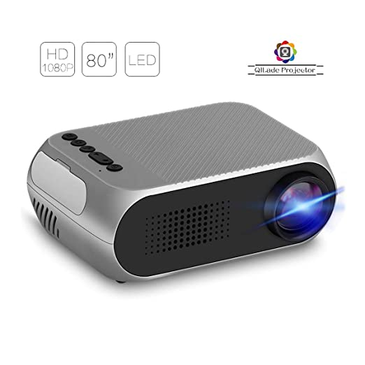 Proyector de Video portátil, LCD Soporte para Mini proyector HD ...