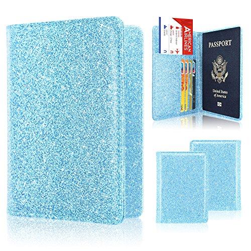 cfcc7f2d47cb Passport Holder Case, ACdream Protective Premium PU Leather RFID ...