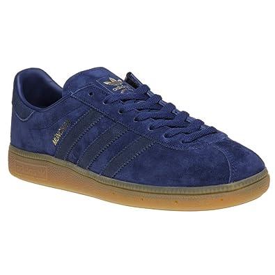 adidas Munchen Uomo Sneaker Blu: Amazon.it: Scarpe e borse