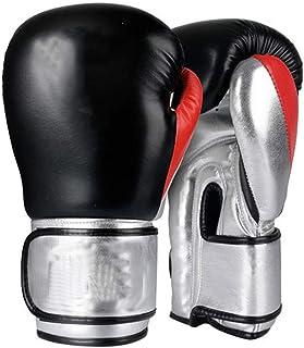 Gants d'entraînement Gants De Boxe Antidéflagrants De Protection Épaisse Noirs De Combat Durables De Confort Respirant De Doublure d'une Seule Pièce De Cadeaux (Color : Blue, Size : 8oz)