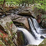 Massachusetts Wild & Scenic 2021 12 x 12 Inch Monthly Square Wall Calendar, USA United States of America Northeast State Nature