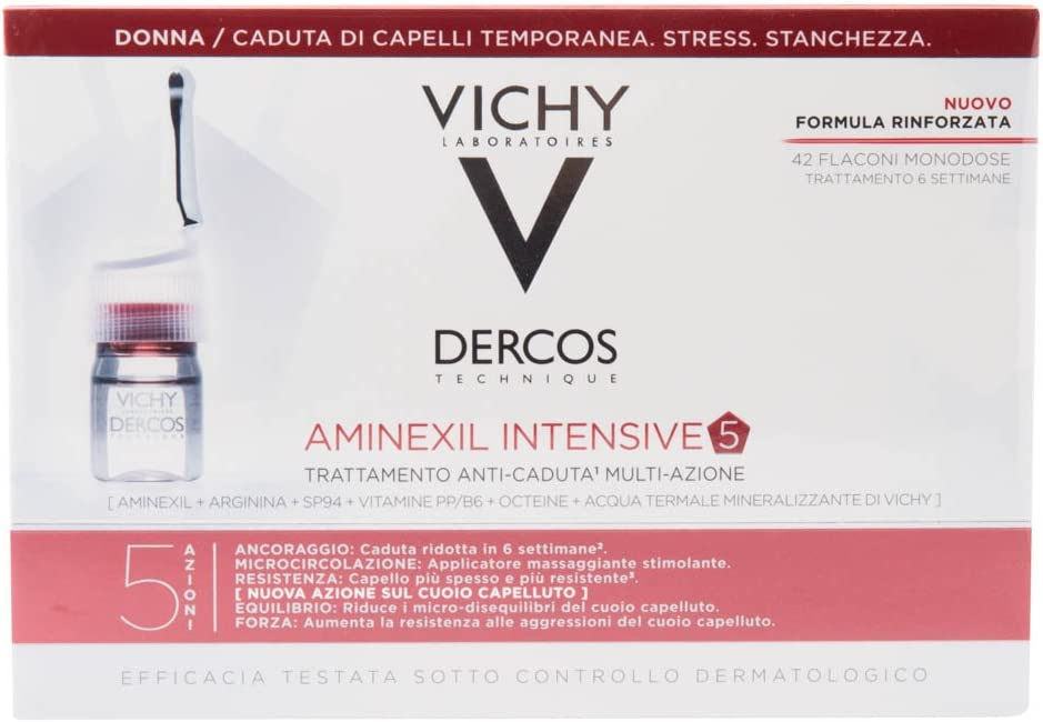 LOREAL Vichy dercos aminexil clinical intensive anticaida mujer ...
