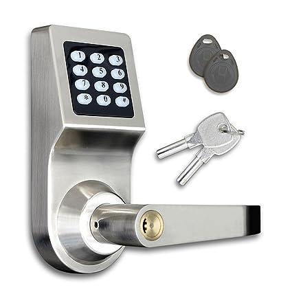SmartCode cerradura de seguridad en el hogar digital sin llave, cerradura de puerta electró