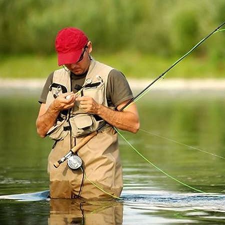 Straps mit Strumpf Wasserdicht Brust Wader MagiDeal Anglerhose Wathose Y