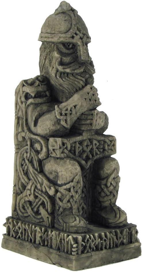 Amazon.com: Dryad Design Norse God Thor Statue Stone Finish: Home & Kitchen