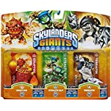 Skylanders: Giants - Triple PacK F: Eruptor + Stealth Elf + Terrafin