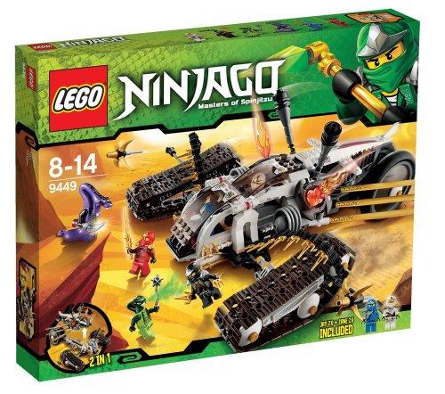 LEGO® NINJAGO® Ultra Sonic Raider Vehicle w/ Minifigures | 9449