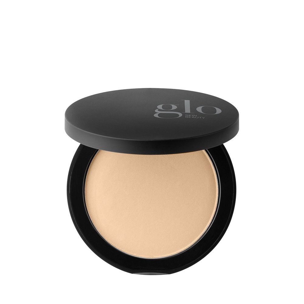 Glo Skin Beauty Pressed Base - Golden Medium - Mineral Makeup Pressed Powder Foundation, 20 Shades | Cruelty Free