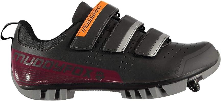 Muddyfox Mujer MTB100 Cycling Shoes Negro/Rosa 38: Amazon.es: Ropa ...