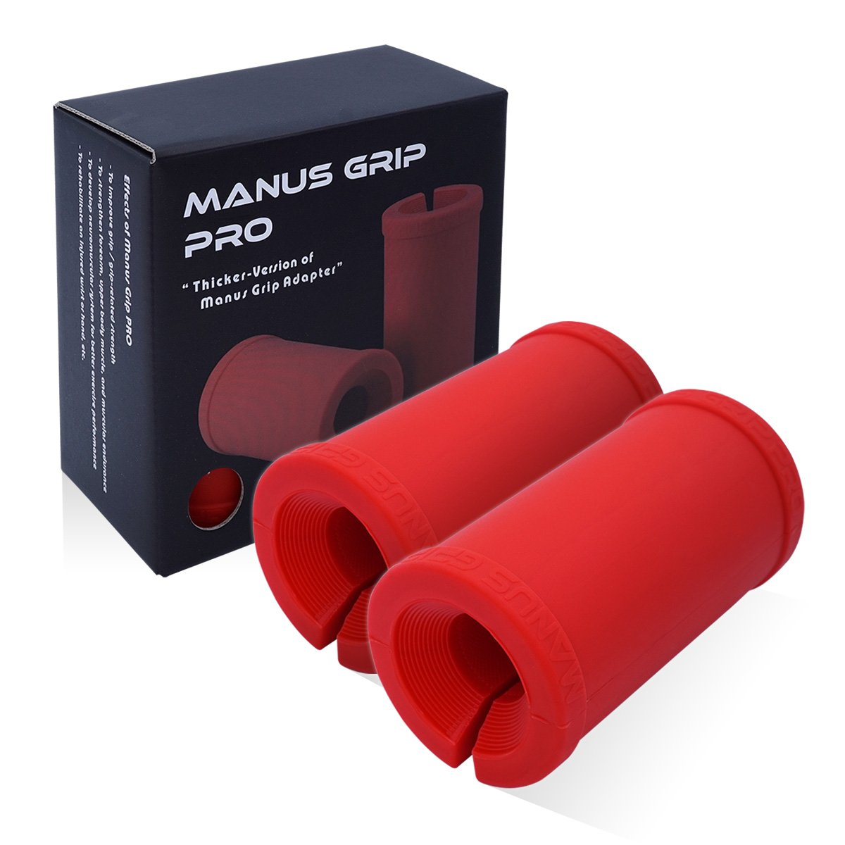Joagym Fat Bar Training Manus Grip Pro - The Best Powerful Arm, Biceps, Triceps, and Chest Muscle Strength Growth Builder
