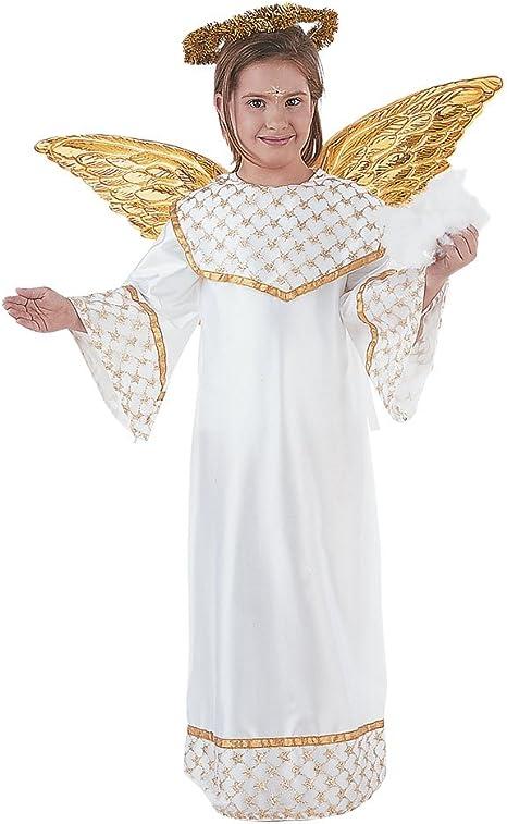 Limit Sport - Disfraz de angel dorado para niños (MI246): Amazon ...