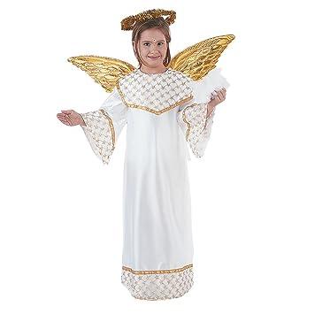 Limit Sport - Disfraz de angel dorado para niños (MI246 ...