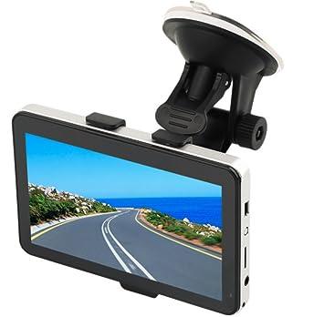 FLY Coche GPS Portátiles De Navegación De 5 Pulgadas