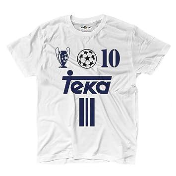 KiarenzaFD Camiseta Camiseta Fútbol Vintage Luis Madrid Figo 10 Temporada 01 – 02 Champion, KTS01972