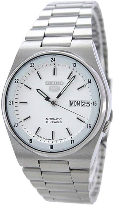 Seiko Reloj de Hombre automático 36mm Correa y Caja de Acero SNXM17J5