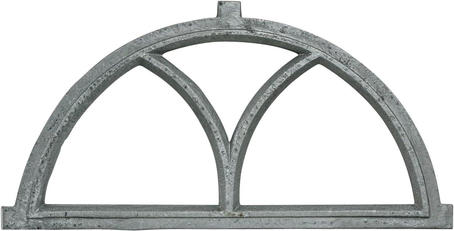Ventana del granero de hierro estilo antiguo 81cm (g)