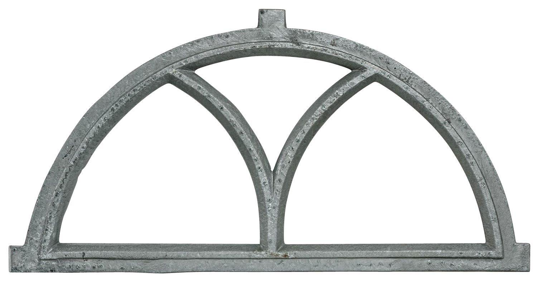 g Ventana del granero de hierro estilo antiguo 81cm