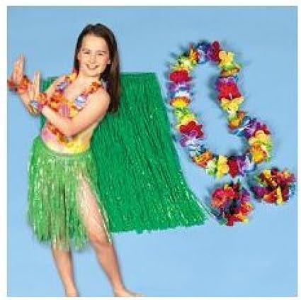 Hawaiian Dancer Girls Luau Fairy Child Halloween Costume