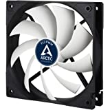 Arctic F12 Rev. 2 Fluid Dynamic Bearing Fan, 120mm Speed Control, 53CFM, 4-Pin PWM fan with standard case