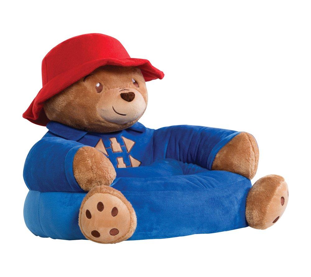 Amazon.com: Trend Lab Paddington Bear Childrenu0027s Plush Character Chair,  Brown: Baby