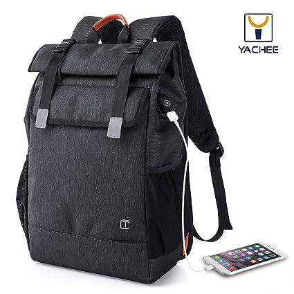Yachee Anti-theft Laptop Backpack, Outdoor 35L Lightweight RollTop Design  Waterproof Multipurpose Large Rucksack b528f8fbc9