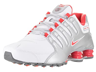 White And Silver Sparkle Nike Shox  231b70d9c0