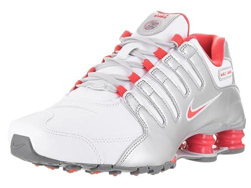 Nike Shox NZ Zapatillas de la Mujer, Color Blanco, Talla 23,5 (M) EU: Amazon.es: Zapatos y complementos