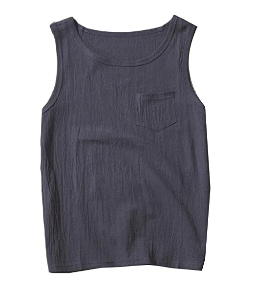 99b56b01bacf5c YUNY Mens Summer Cool Basic Solid Colored Soft O-Neck Tank Top T-Shirt at  Amazon Men s Clothing store
