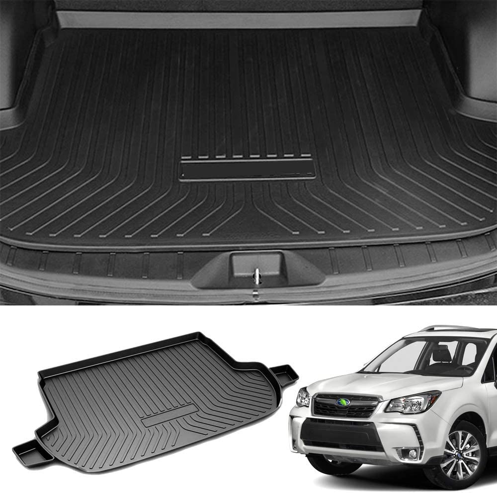 Premis Forester Cargo Liner 3D All Weather Thicker Waterproof Rear Cargo Tray Trunk Floor Mat for Subaru Forester 2014-2018