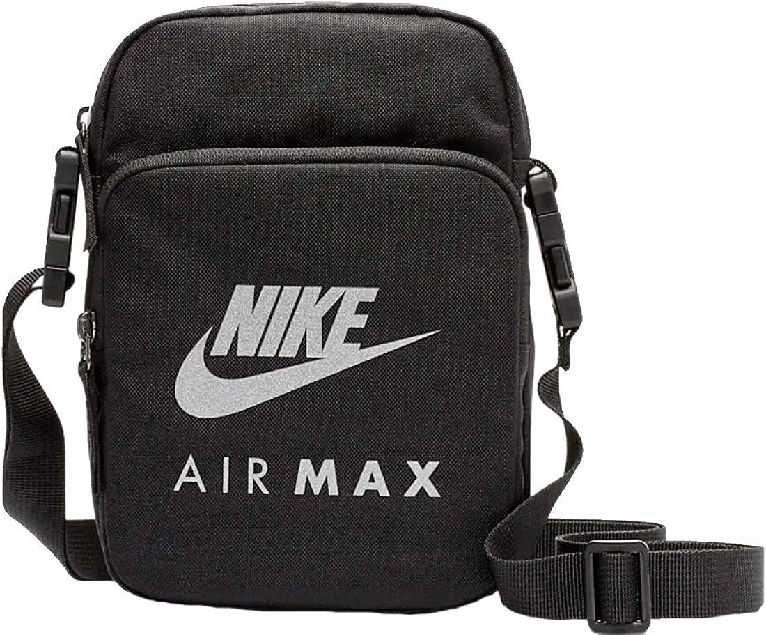 Nike NK MAX AIR SMIT - 2.0 Bolso pequeño/Cartera de mano hommes Negro Bolso pequeño/Cartera