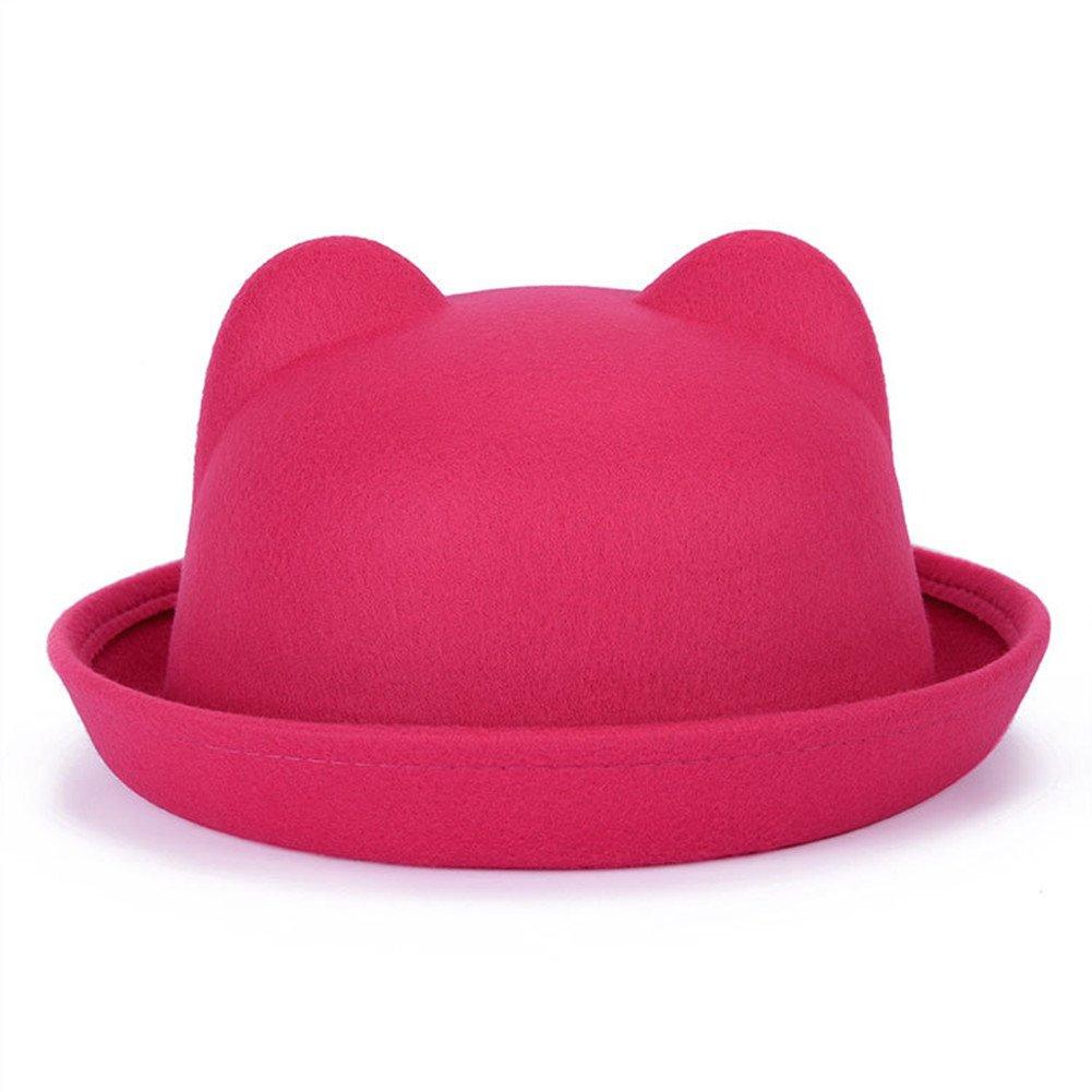 Mode chapeau oreille Chapeau Vintage Costume Play Brim Bowler Chapeaux Casquette Distinct