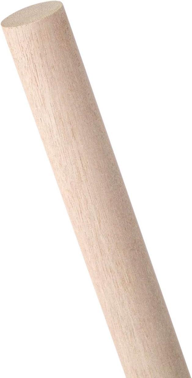 Pack 4 x 36 In Oak Dowel Rod Waddell 1-1//4 In