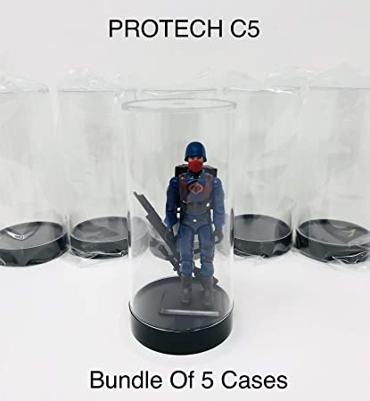 Protech Star Case 5 Display Case Designed for Smaller Figures Quantity of 5