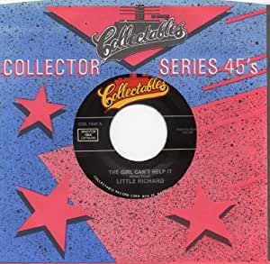 """The Girl Can't Help It=b/w= Rip It Up=7""""45 Record"""