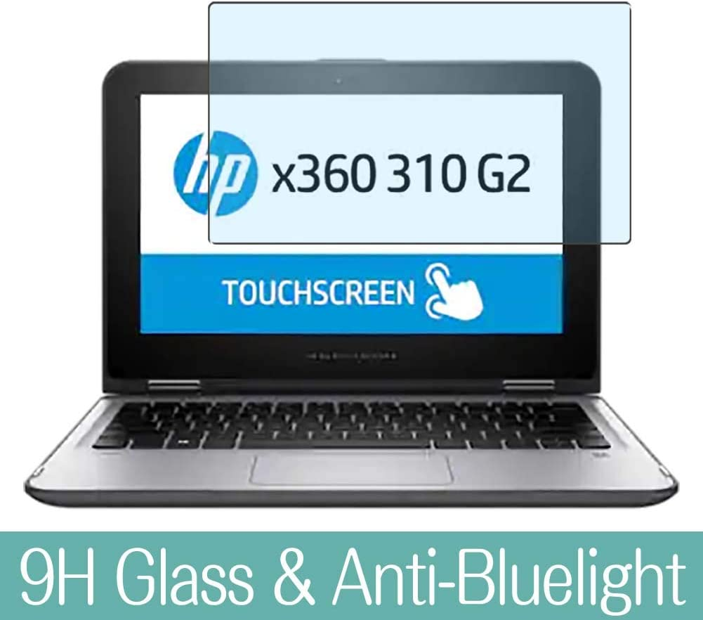 """Synvy Anti Blue Light Tempered Glass Screen Protector for HP x360 310 G2 11.6"""" Visible Area 9H Protective Screen Film Protectors"""