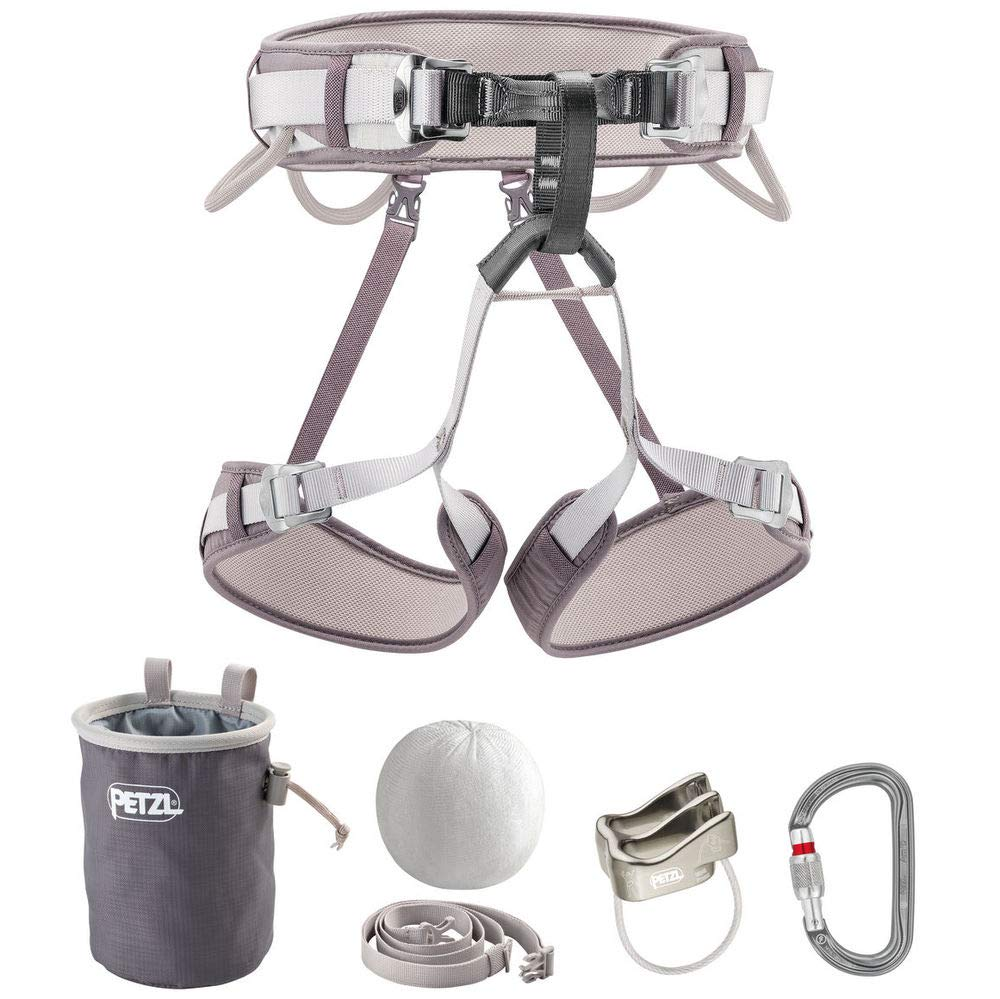 PETZL Kit Corax Climbing Kit Gray Size 1