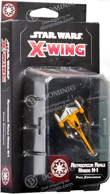 Asmodee Italia - Star Wars X-Wing Astrocaccia Royal N-1 de Naboo expansión Juego de Mesa con espléndidas miniaturas, Color, 9963: Amazon.es: Juguetes y juegos