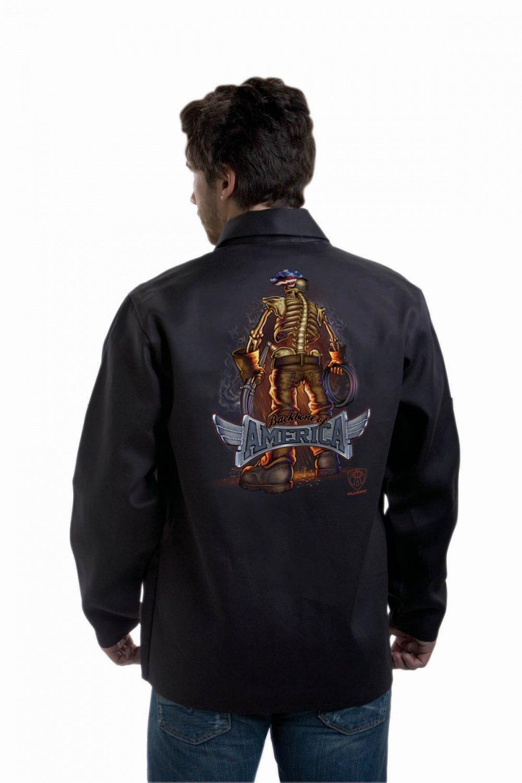 TILLMAN 9061 ''BACKBONE of AMERICA'' WELDING JACKET - XL by J Tillman