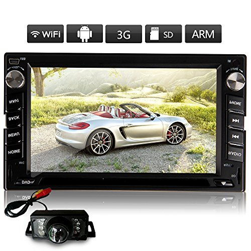Android GPS Navigation HD Double 2DIN Indash 6.2