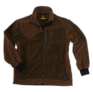 Browning Chaqueta de Caza powerfleece One Verde/marrón, marrón: Amazon.es: Deportes y aire libre