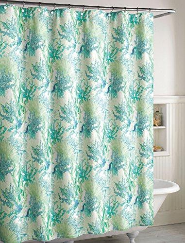 - CHF Ursula Shower Curtain One Size Aqua