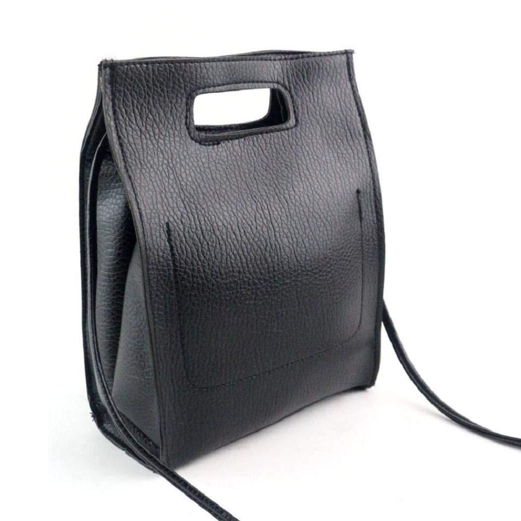 VIASA Women Black Handbag Shoulder Bag Large Tote Bag