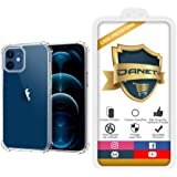 """Capa Protetora Para Iphone 12 e 12 Pro com Tela de 6.1"""" Polegadas Capinha Case Transparente Air Anti Impacto Proteção De Sili"""