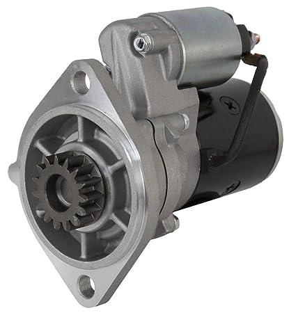 NEW 12V 15T STARTER MOTOR FITS YANMAR ENGINE 3JH2E 3T84C 4JH2-DTE 4JH2-E  S114-483