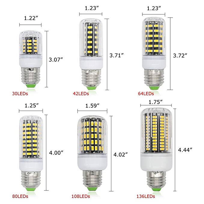 Amazon.com: 1 PC SMD Lampada LED Lamp Ampoule Bulb LED Bombillas LED Light Bulb Spot Lamparas Spotlight Emitting Color: New Milky, E9 B22 Cool White: Home & ...