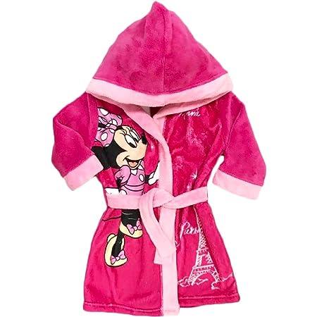 2//4 Anni Colore Rosa CTI 043754 Minnie-Accappatoio a Forma di Cuore