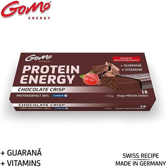GoMo ENERGY® 38% PROTEIN BAR Programa de aumento ...