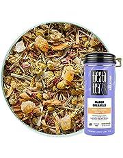 Tiesta Tea - Mango Dreamzzz, Loose Leaf Mango Chamomile Herbal Tea, Non-Caffeinated, Hot & Ice Tea, 3 oz Tin - 50 Cups, Natural Flavored, Calming, Herbal Tea Loose Leaf
