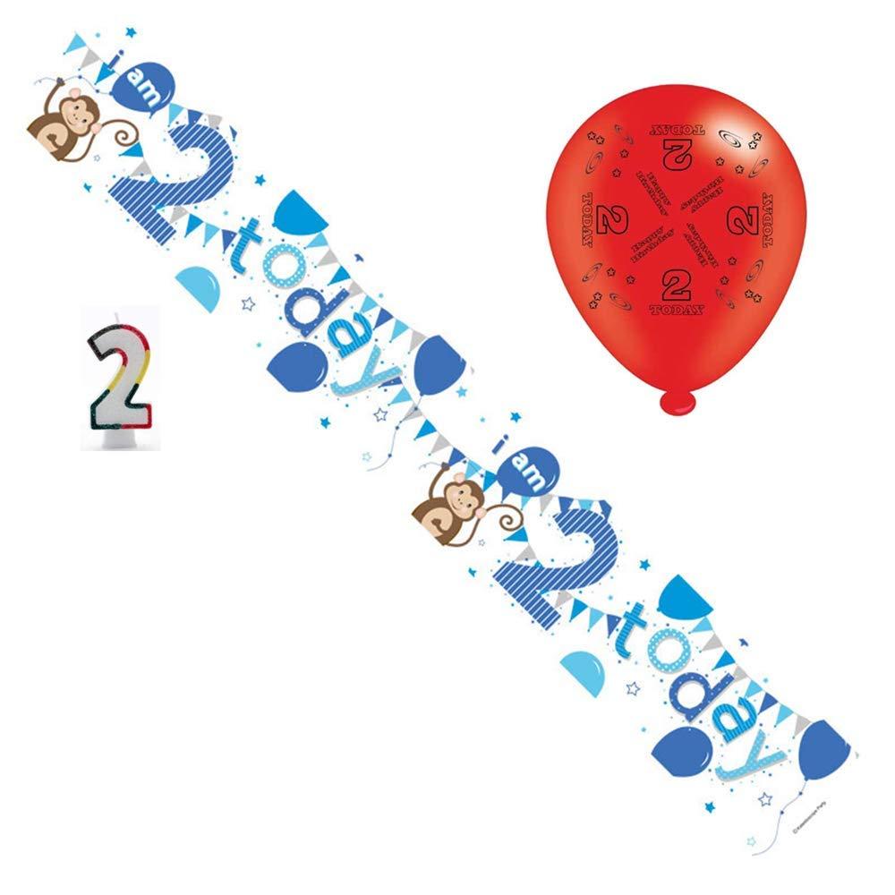 Paquete de fiesta de cumpleaños para niños de 2 años ...